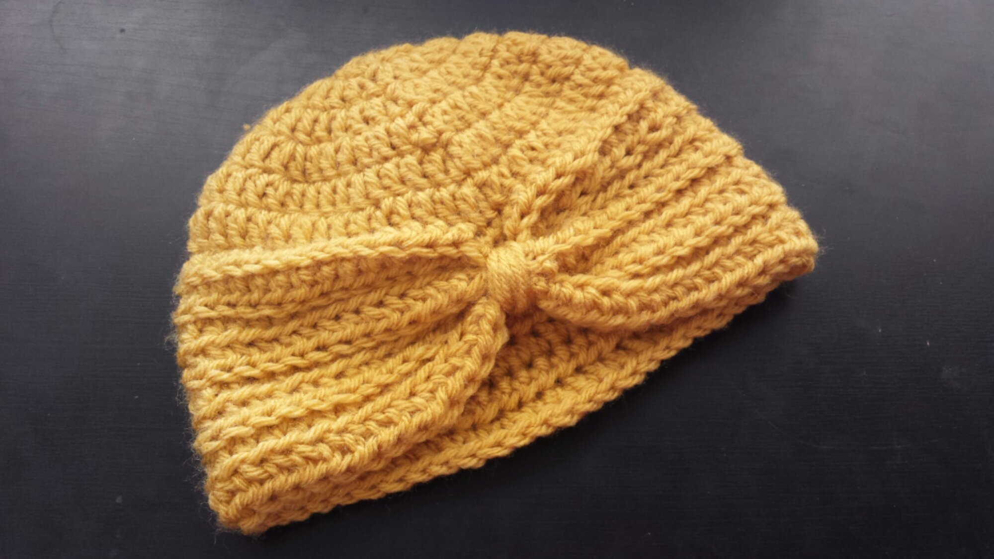 Free Crochet Pattern Baby Turban : toddler girl Archives - Golden Rippy