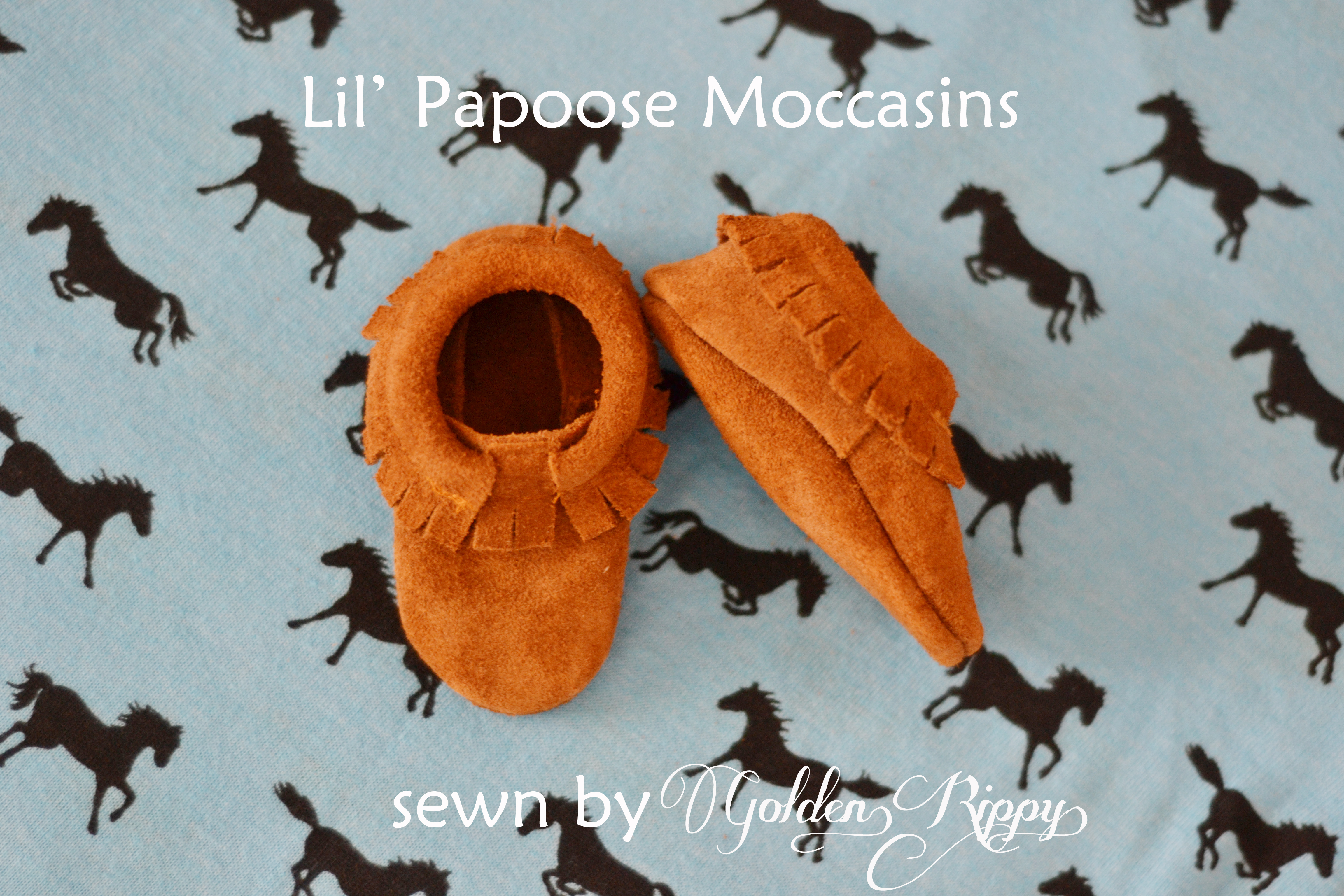 how to make baby moccasins