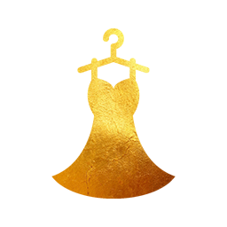 Gold Stitched Dress