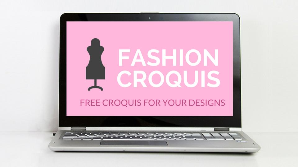 fashion croquis